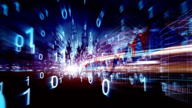 stock-market and  real economy - quartiere generale video stock e b–roll