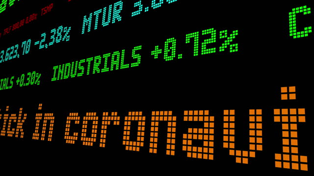 Stocks rise slightly amid uptick in coronavirus cases video