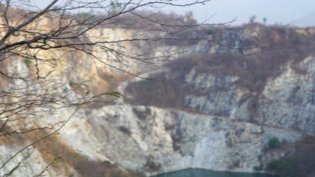Stone canyon at Chonburi province in Thailand