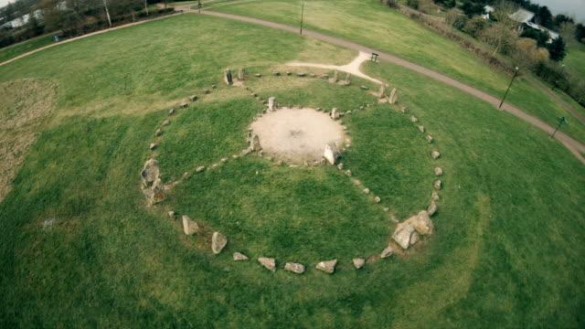 Stone Circle at park in UK