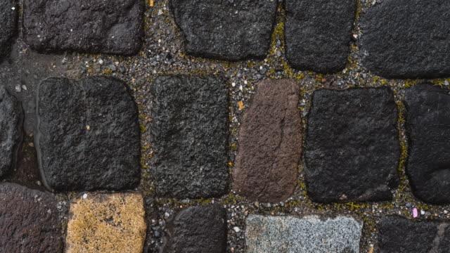 Stone floor panning