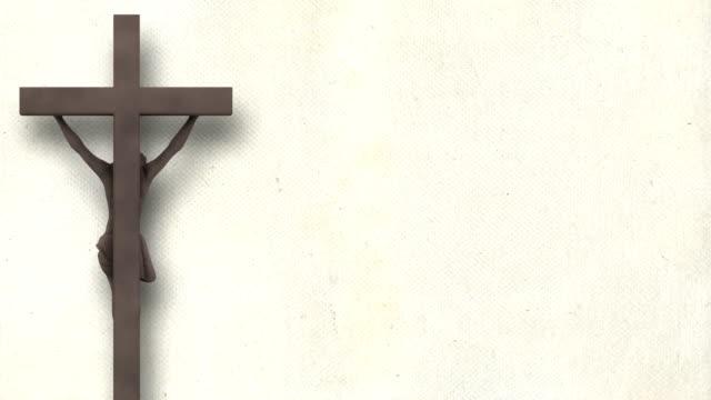 Stone Jesus Christ (Loop + Alpha Matte) video