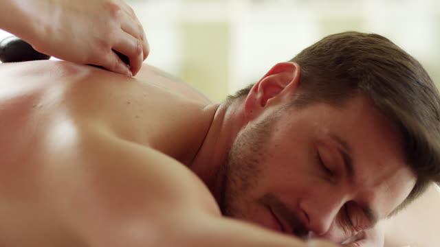 kamień masaż - terapia lastone filmów i materiałów b-roll