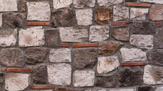 Stone wall panning