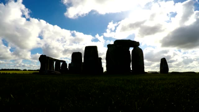 Stonehenge, Salisbury, Amesbury, England, Time Lapse, Long video