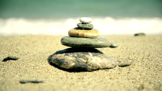 Stones balance video