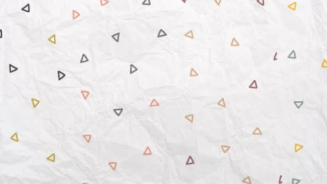 stop motion background, hand sketched cartoon lines, retro style, geometric shapes - scarabocchio motivo ornamentale video stock e b–roll
