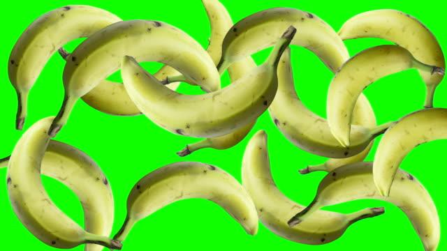 停止運動香蕉綠屏 - 香蕉 個影片檔及 b 捲影像