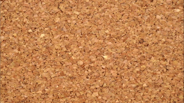 stop motion brown cork wood texture animation . 4k 3840 × 2160 video footage