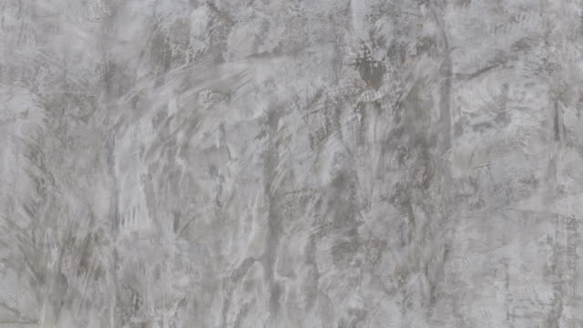 4K Stop motion Cement abstract and background.