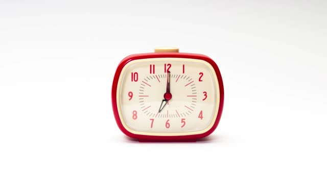 Stop Motion of Alarm Clock