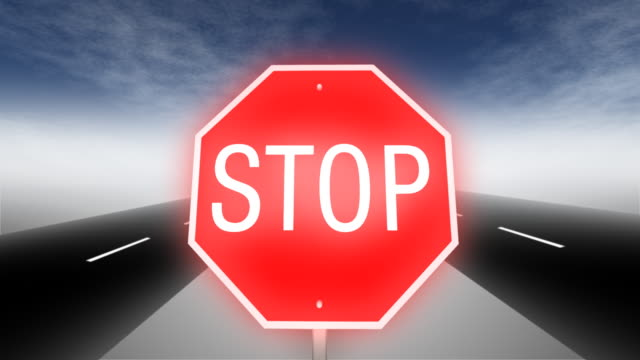 Stop Sign Road video
