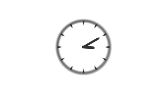 CLOCK : stopping at 11:00 o'clock (WIPE) video