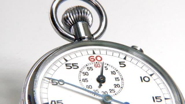 vidéos et rushes de chronomètre compter le temps - chrono sport