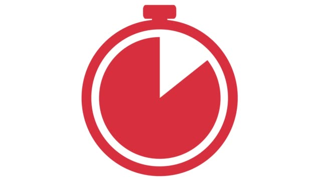 stopwatching appearing then counting down for 10 seconds then disappearing red
