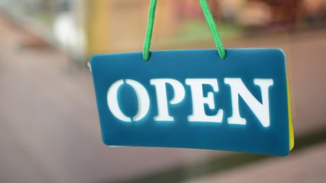 Le magasin est ouvert - Vidéo
