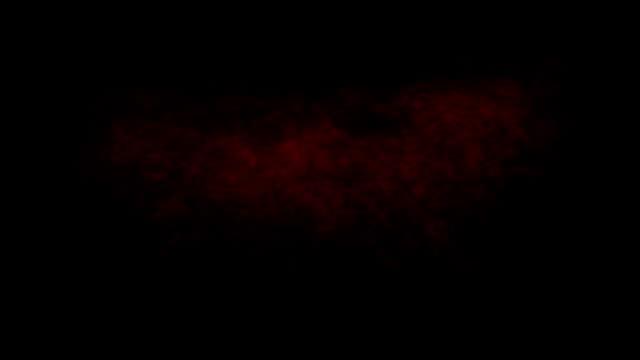 vídeos y material grabado en eventos de stock de animación de la nube de tormenta conjunto aislado sobre fondo negro - pegajoso