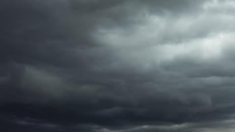 vidéos et rushes de les nuages au coucher du soleil - ciel couvert