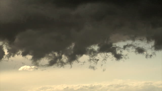 storm clouds forming in the sky video