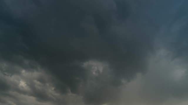 Storm clouds moving time lapse