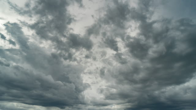 Storm clouds moving time lapse.