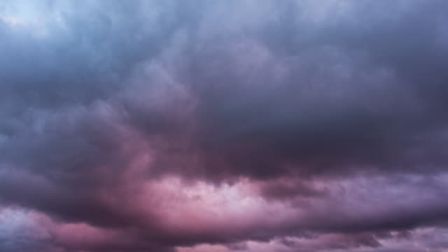 Storm clouds sunset, 4K time-lapse Storm clouds sunset, 4K time-lapse ominous stock videos & royalty-free footage
