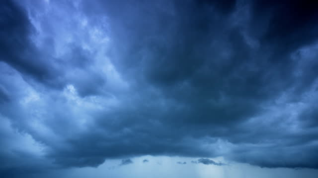 Storm clouds Timelapse video