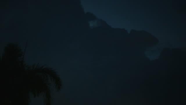 шторм облака  - lightning стоковые видео и кадры b-roll