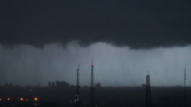 Storm clouds,Time lapse. video