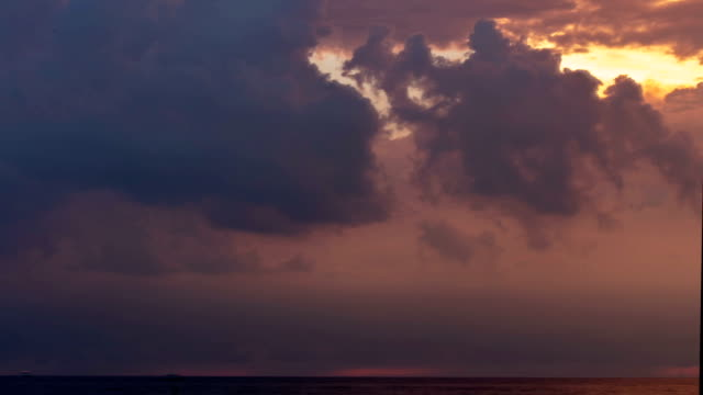 Storm Coming in Over Lake Erie - Time Lapse video