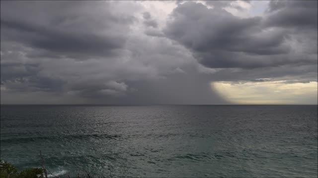 海の上の嵐 - 灰色点の映像素材/bロール