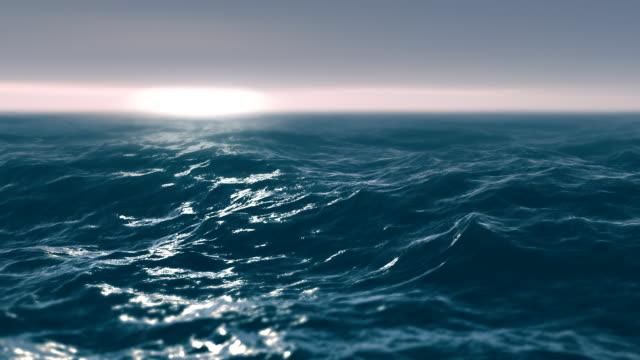 Storm sea video