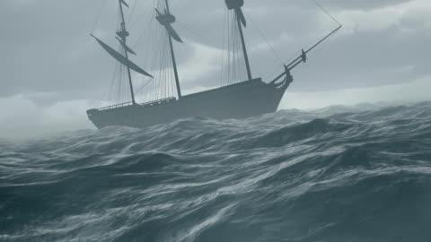 vidéos et rushes de storm - transport nautique