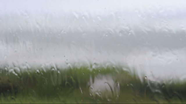 Stormy window video