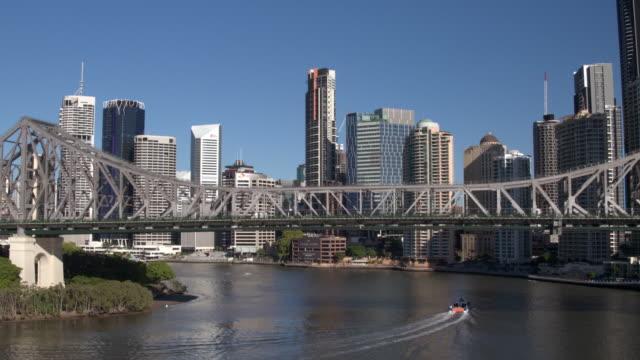 Story Bridge, Brisbane City, Queensland, Australia video
