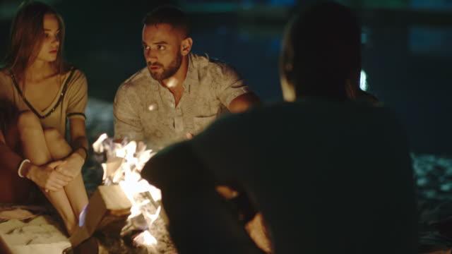 Storytelling at the Bonfire - video