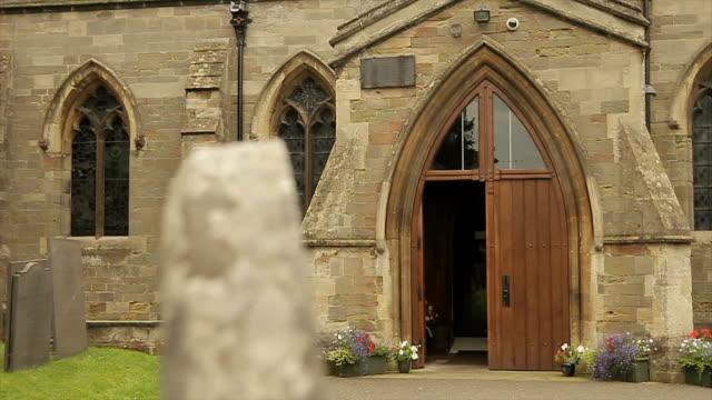 St.Peter's Church Entrance Track Around Gravestone video