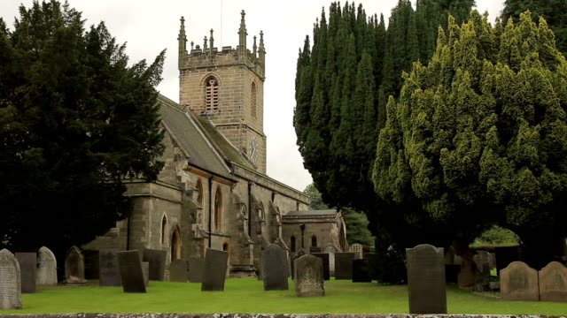 St.Peter's Church Wide EXT with Cars video