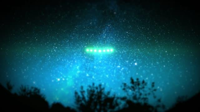 Strange Lights Form V in Sky and Fly Away video