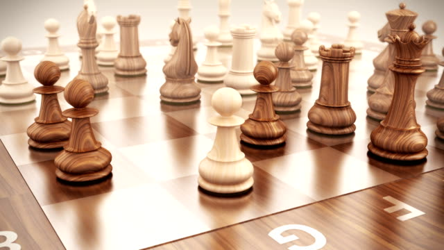 strategien - schach stock-videos und b-roll-filmmaterial