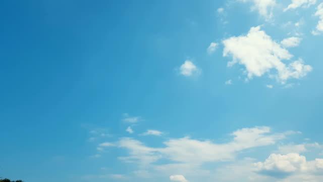 alanları tarım arazileri zaman hasat, mavi bulutlu gökyüzü ile saman balya. güzel doğa arka plan. hafif meltem, güneşli bir gün, dinamik sahne, 4k video. - çavdar stok videoları ve detay görüntü çekimi