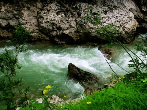 strumień, kurdjips river - opis fizyczny filmów i materiałów b-roll