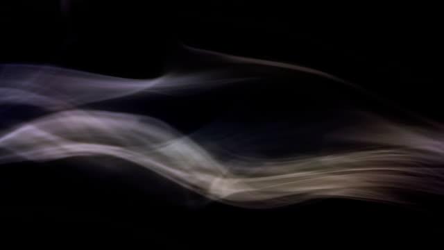 Stream of smoke video
