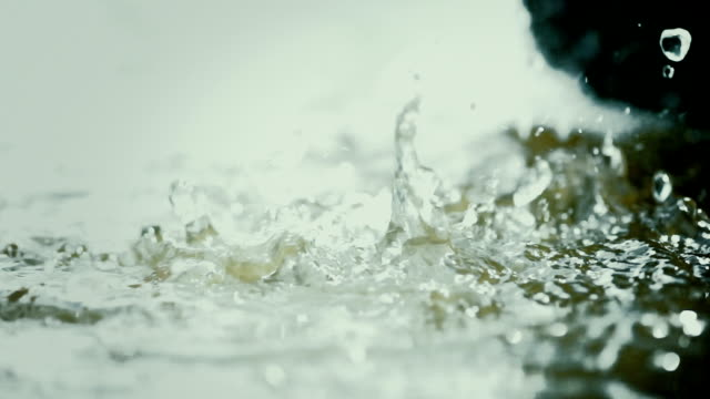 Stream of Water Droplets video