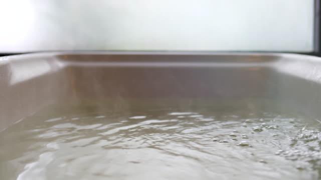 Stream water hot Bathtub