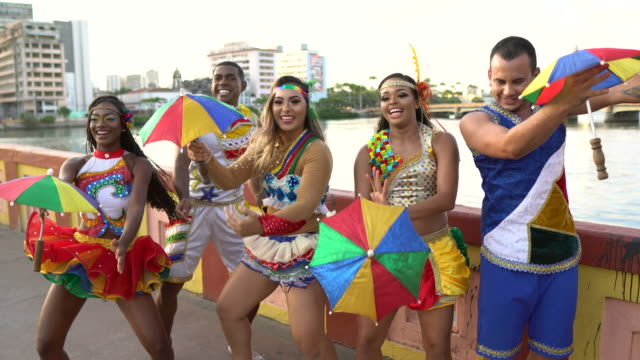 Street Carnival group performance
