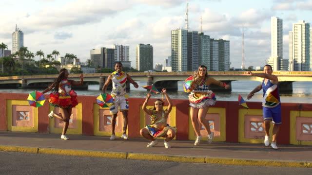 Street Dancers in Recife