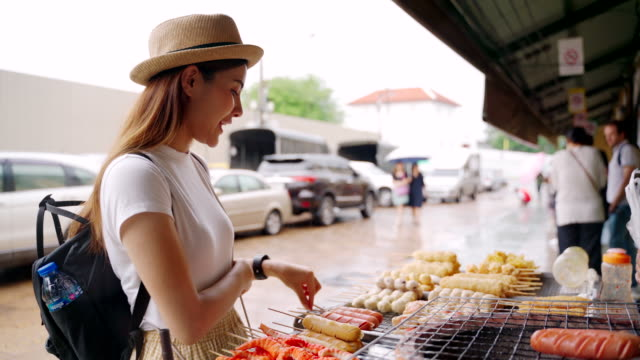 Street food at Chinatown in Thailand
