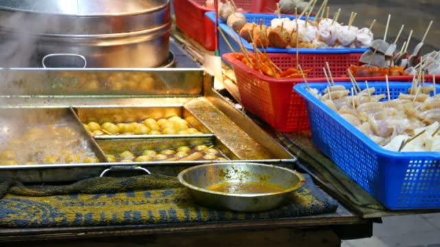 Street food, Hong Kong video