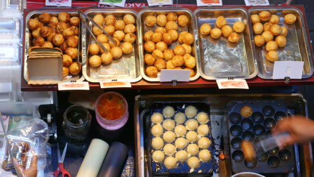 Street food in Bangkok video